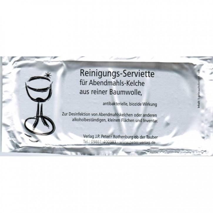 Reinigungs-Serviette für Abendmahls-Kelche