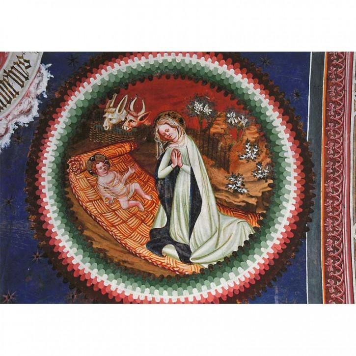 Doppelkarte - Fresco Jesus Maria Weihnachten