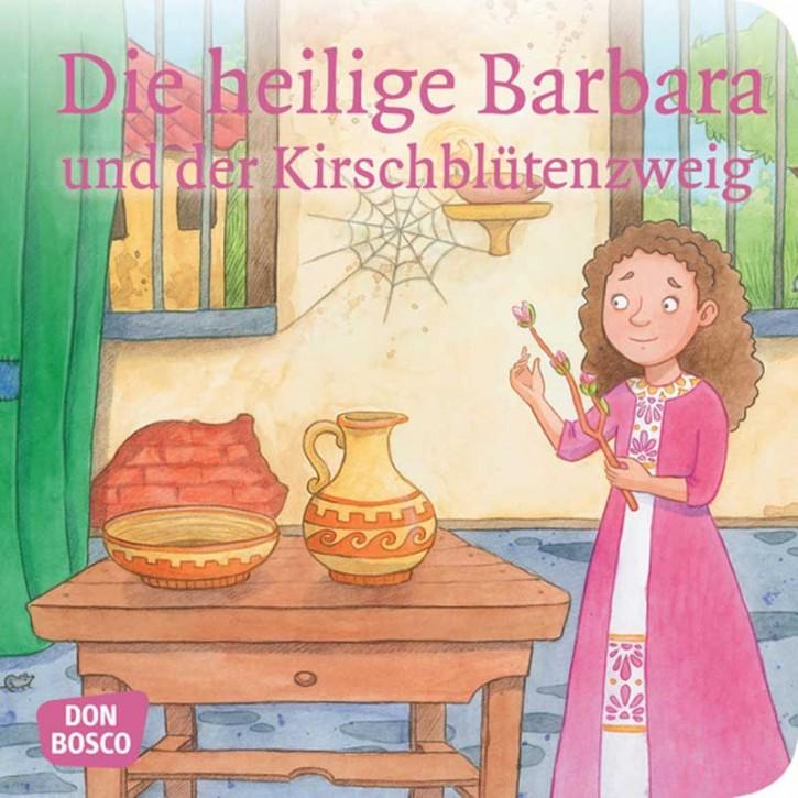 Die Heilige Barbara und der Kirschblütenzweig