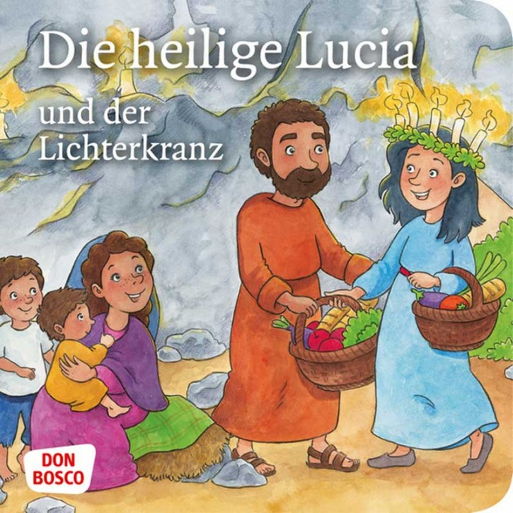 Die heilige Lucia und der Lichterkranz