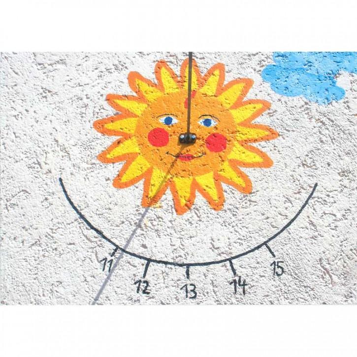 Doppelkarte - Sonnenuhr