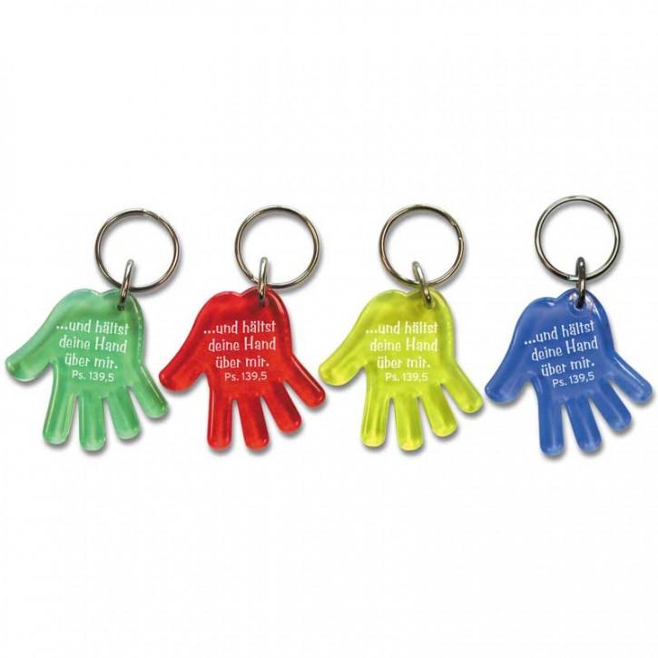 "Schlüsselanhänger ""Hand"""