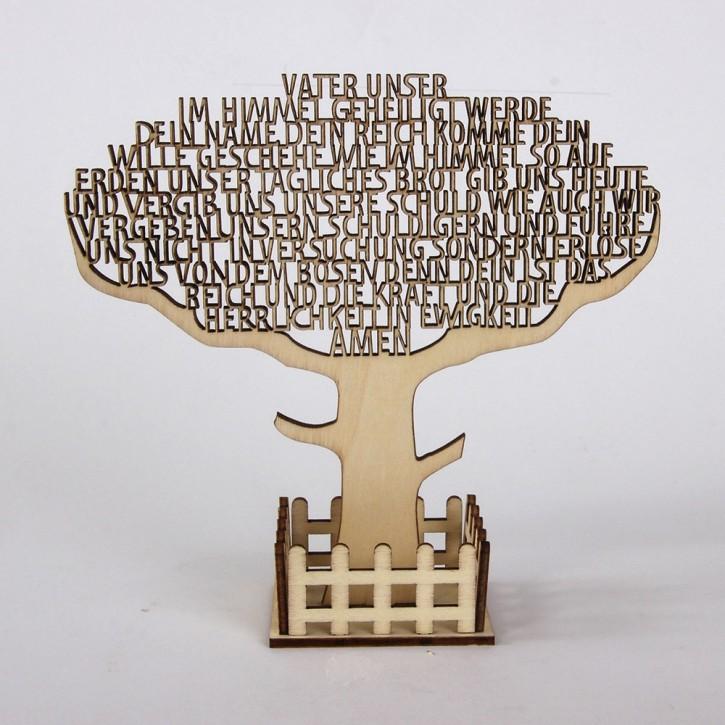 Text-Baum Vater unser