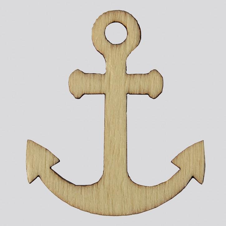 Holzsymbol: Anker