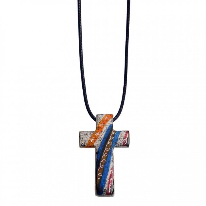 Anhänger Kreuz aus Speckstein