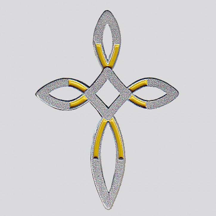 Pin Ichthys- Kreuz (diamant)