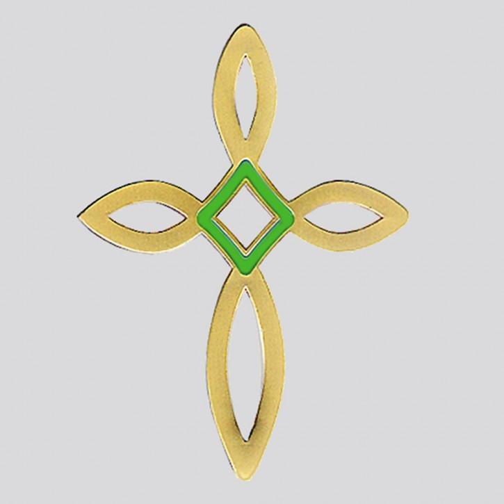 Pin Ichthys- Kreuz (eisern)