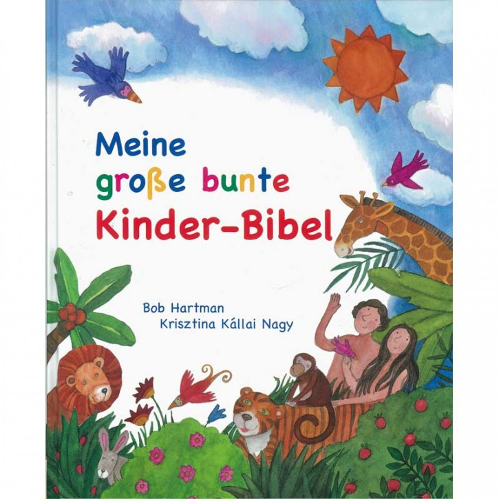 Meine große bunte Kinder-Bibel
