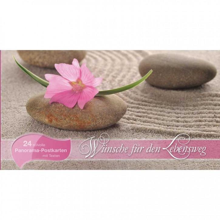 Postkartenbuch - Wünsche für den Lebenweg