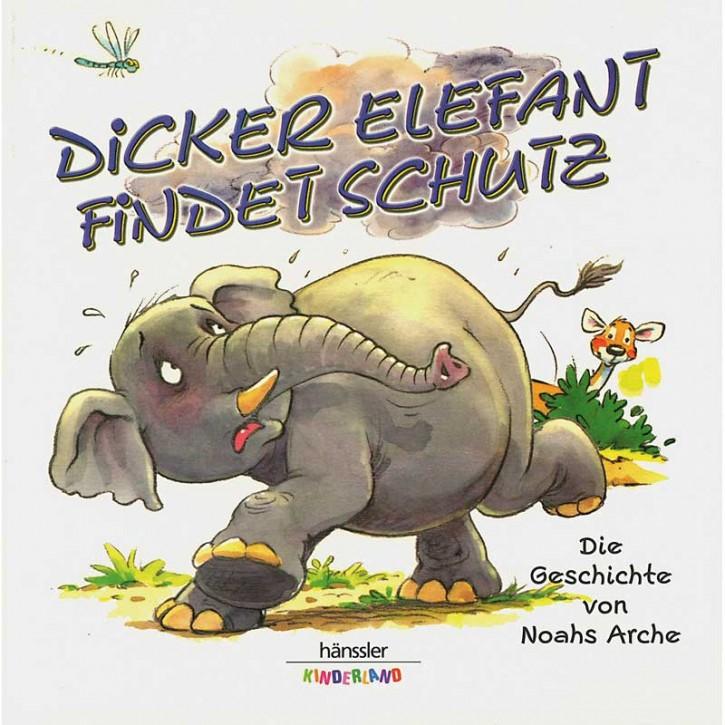 Dicker Elefant findet Schutz