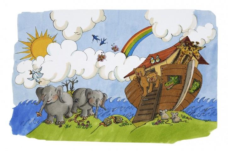 3D-Karte Arche Noah