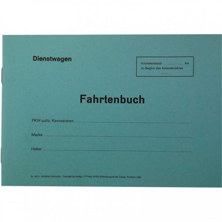 Fahrtenbuch für Dienstwagen