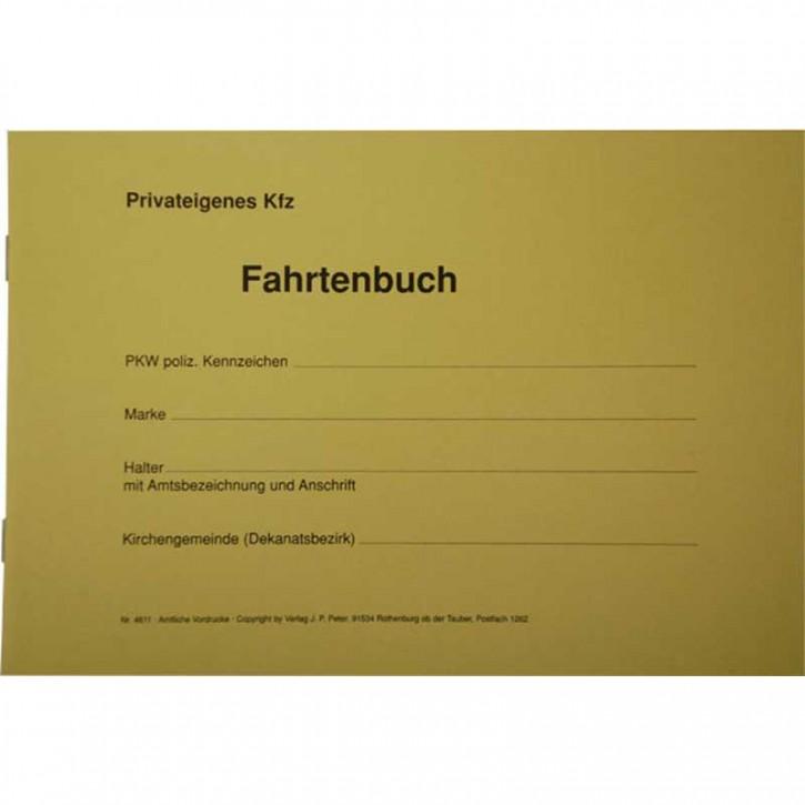 Fahrtenbuch für privateigene Kfz