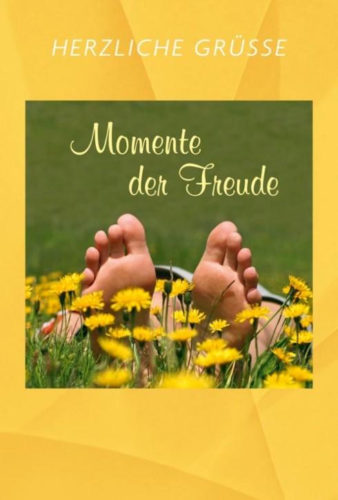 Herzliche Grüße - Momente der Freude