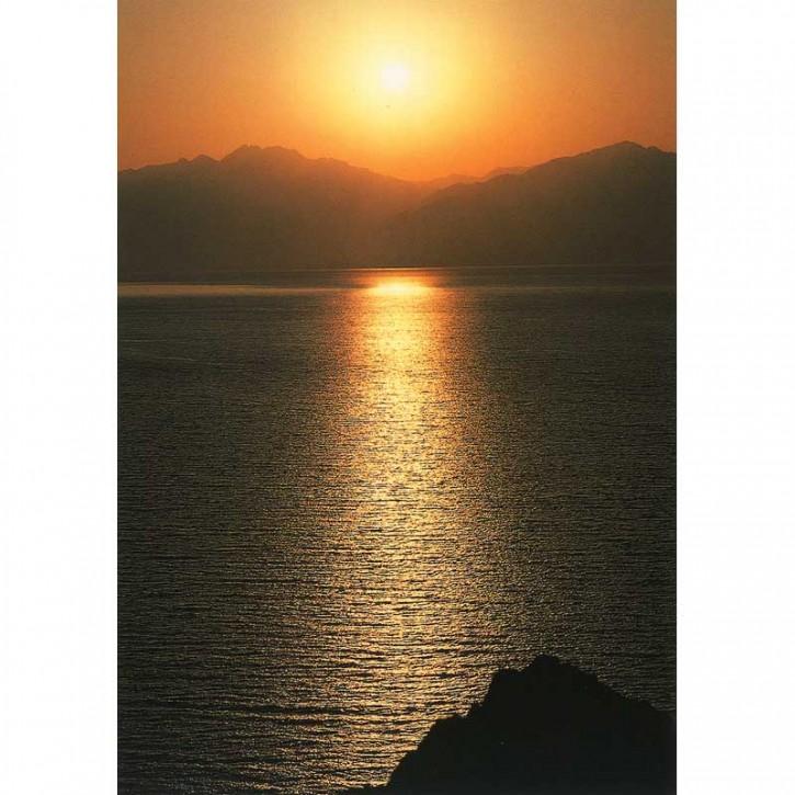 Doppelkarte - Sonnenuntergang