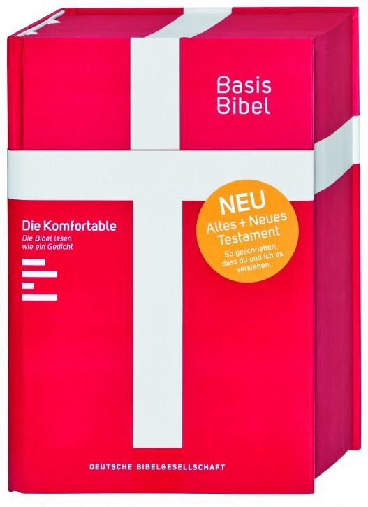 BasisBibel - Die Komfortable. Rot  *NEU