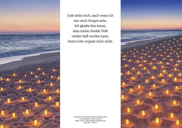 Ewigkeitskarte PC Motiv: Licht