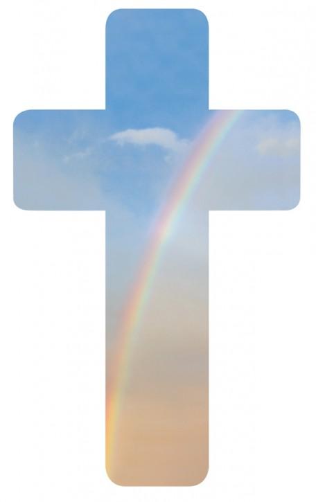 Verteilkreuz Regenbogen