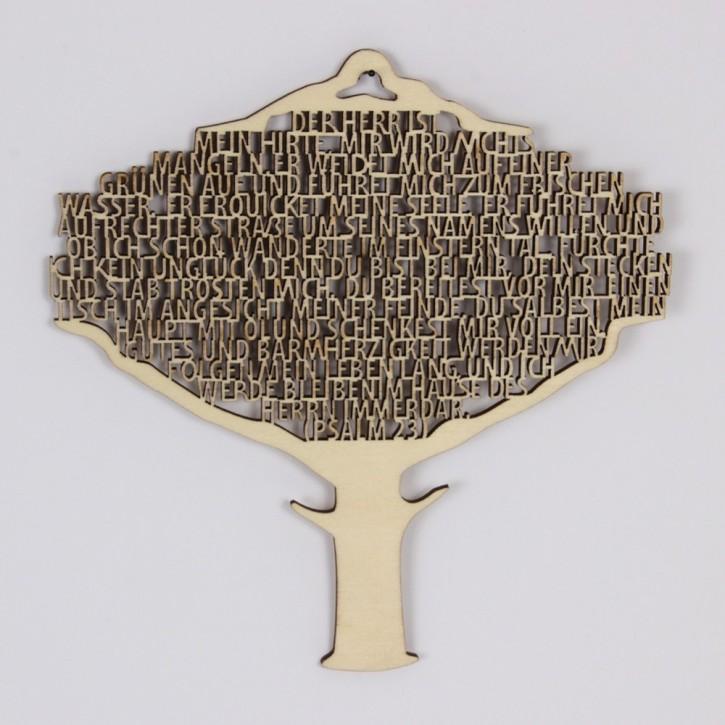 Hänge-Baum Psalm 23