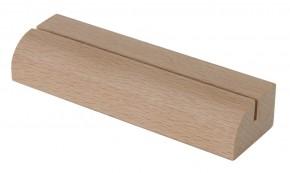 Kartenhalter Holzleiste